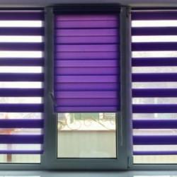 Рулонные шторы день ночь на окна