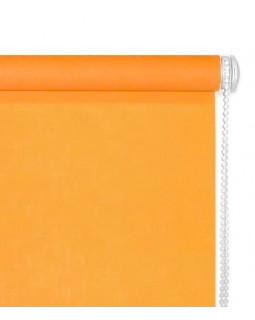 Миниролло ОРАНЖЕВЫЙ рулонные шторы для окна ( цвет апельсин)