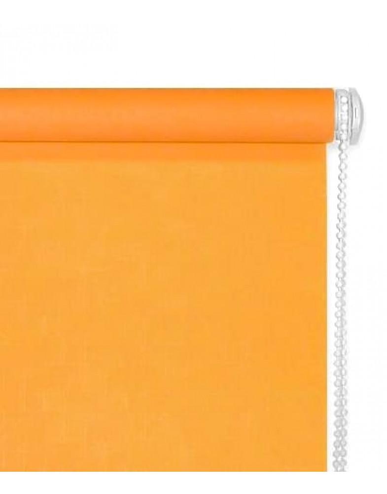 Миниролло для окна оранжевый цвет (апельсин)