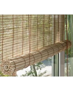 Рулонные шторы из бамбука, Натур-микс