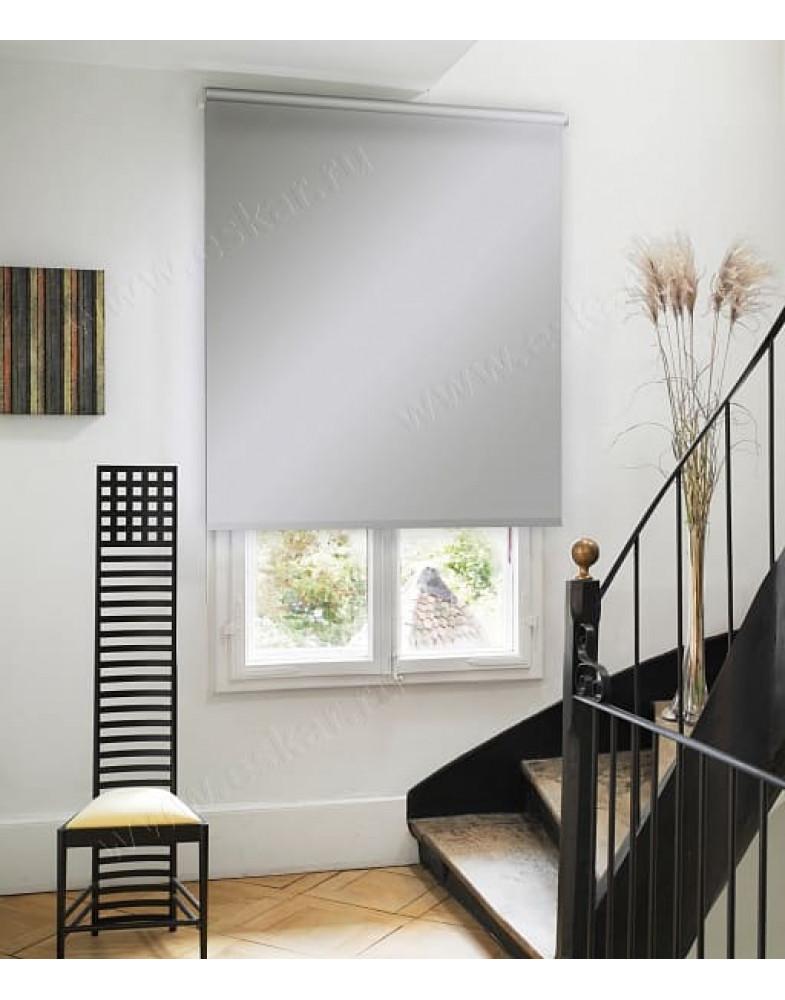 Рулонная штора, Серый