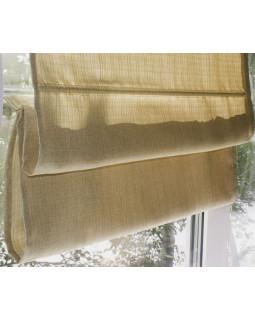 Римские шторы из ткани, Бежевый