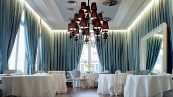 Декорирование шторами кафе, ресторанов