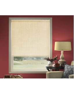 Миниролло для окна 37х170 см цвет бежевый лен