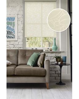Рулонные шторы АДЕЛЬ молочный на окна