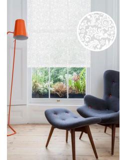 Рулонные шторы ФОНСЕ белый на окна