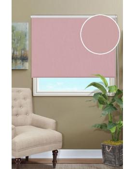 Рулонные шторы БЛЭКАУТ розовый кварц на окна
