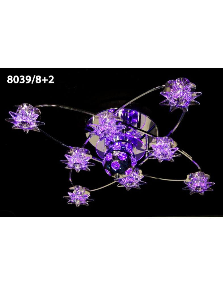 Светодиодные люстры MyLight 8039/8+2