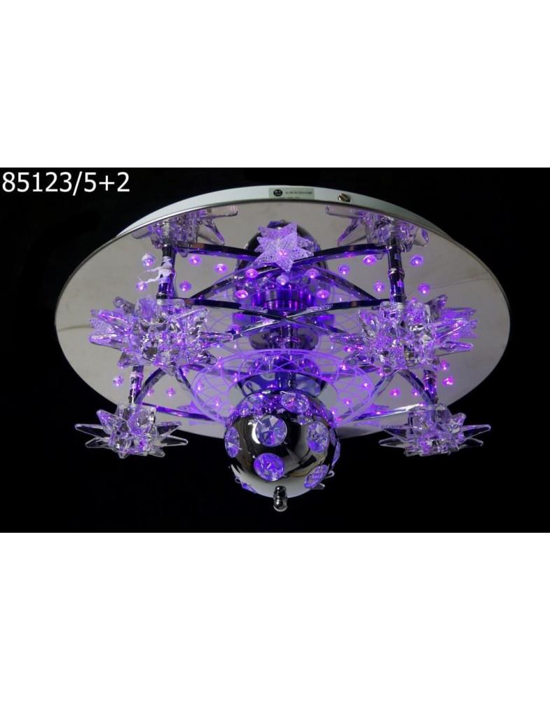 Светодиодные люстры 85123/5+2
