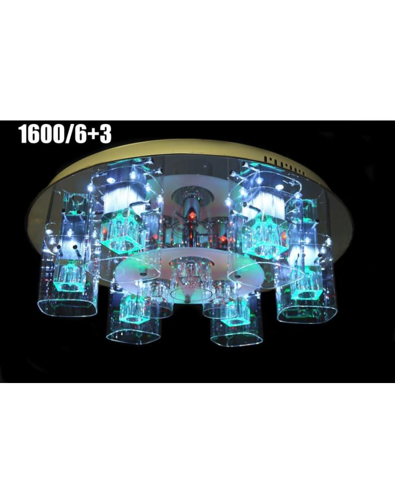 Светодиодные люстры MyLight 1600/6+3