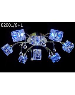 Светодиодные люстры MyLight 82001/6+1
