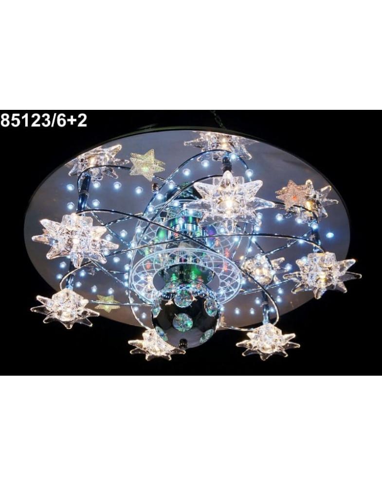 Светодиодные люстры MyLight 85123/6+2