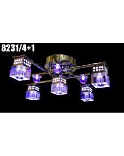 Светодиодные люстры My Light 8231/4+1
