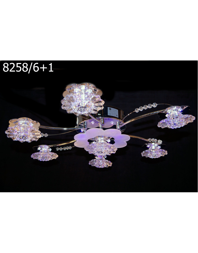 Светодиодные люстры My Light 8258/6+1