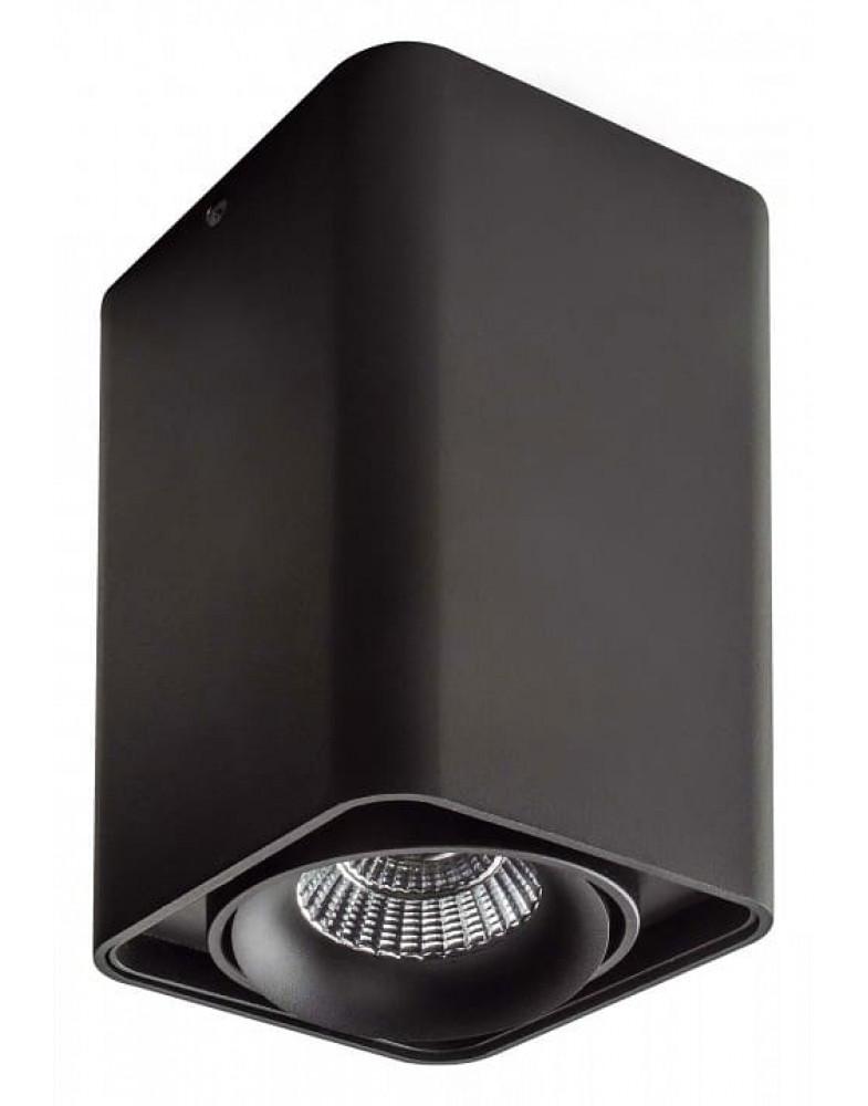 Черный накладной Светильник LIGHTSTAR MONOCCO 100x100x170