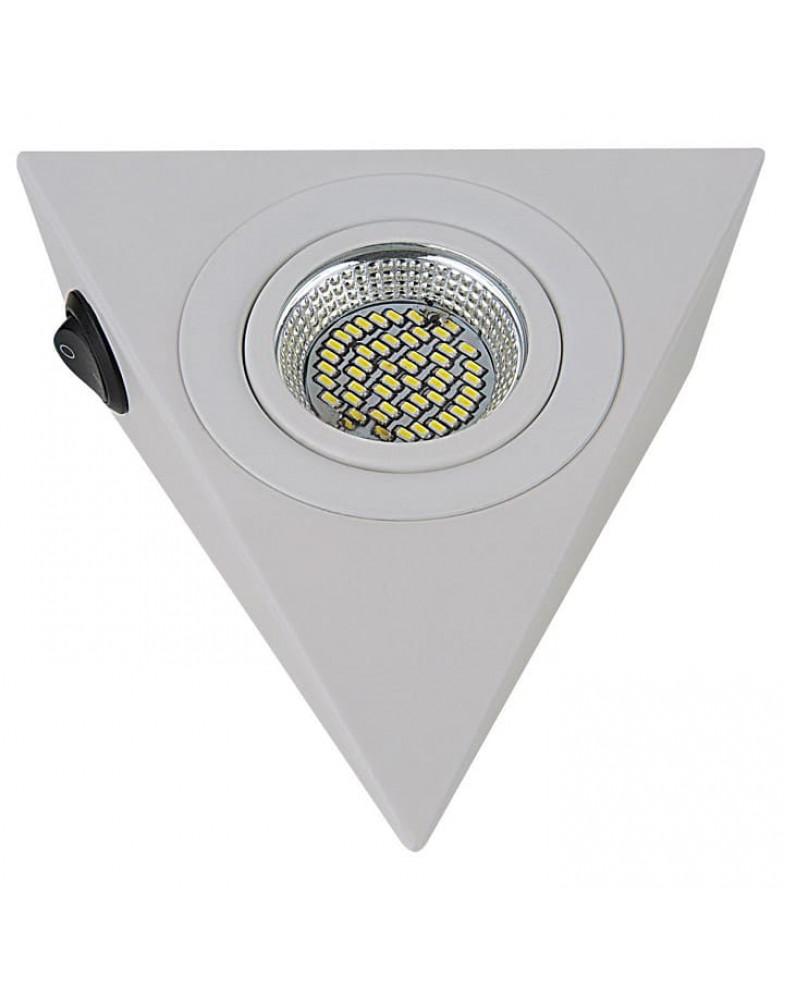 Белый накладной Светильник LIGHTSTAR MOBILED ANGO ( призма треугольная )