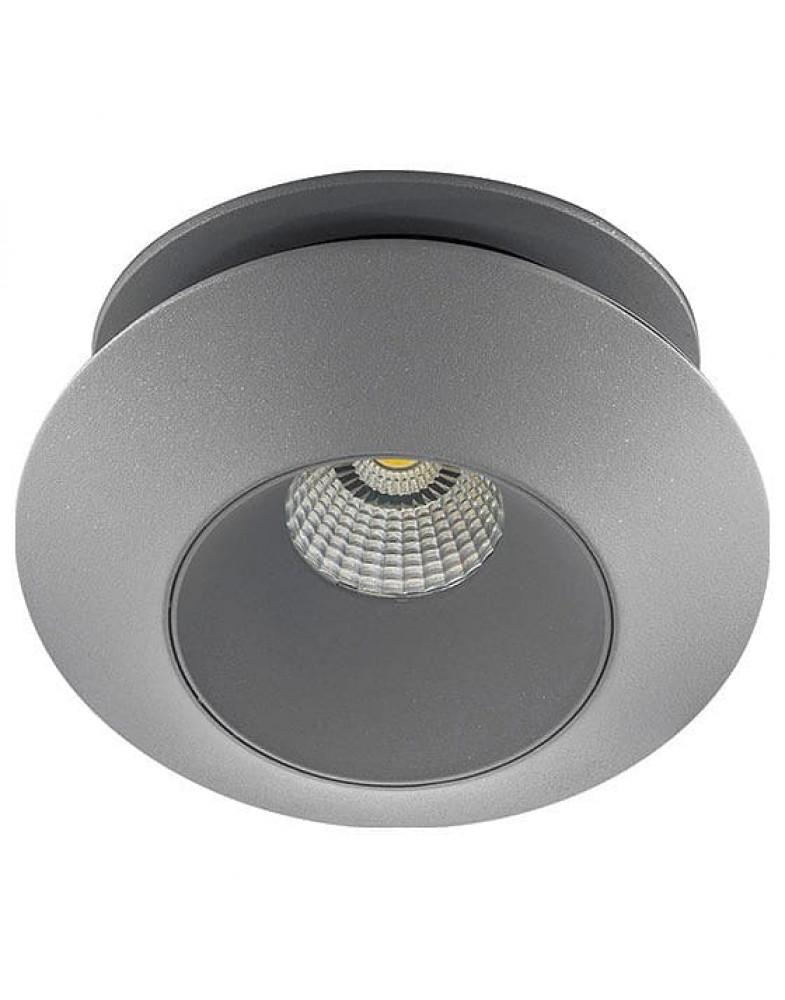 Серый накладной Светильник LIGHTSTAR ORBE ( одинарный )