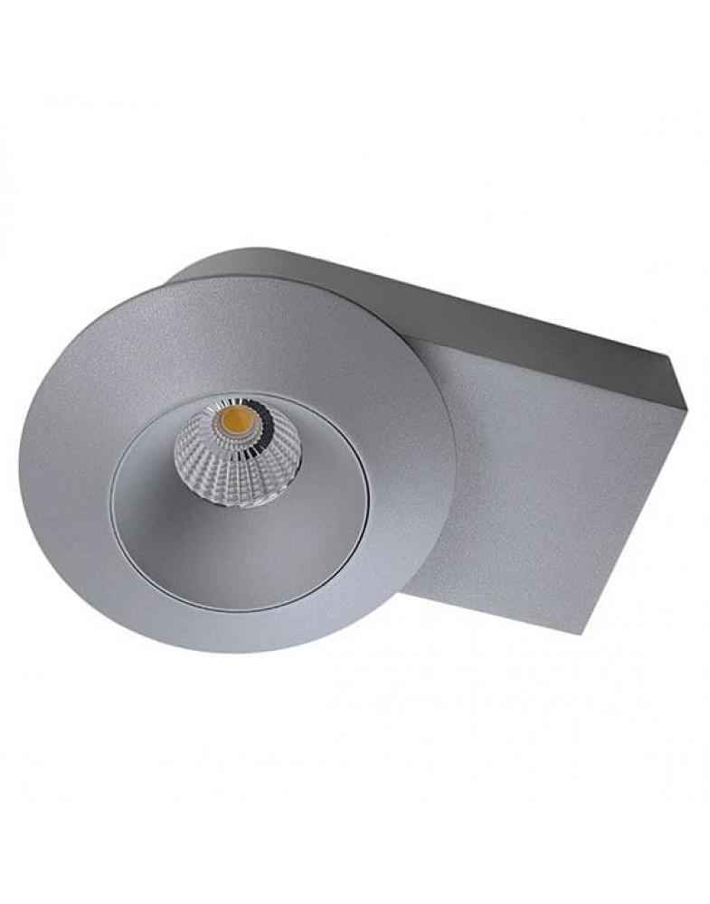 Серый одинарный накладной Светильник LIGHTSTAR ORBE