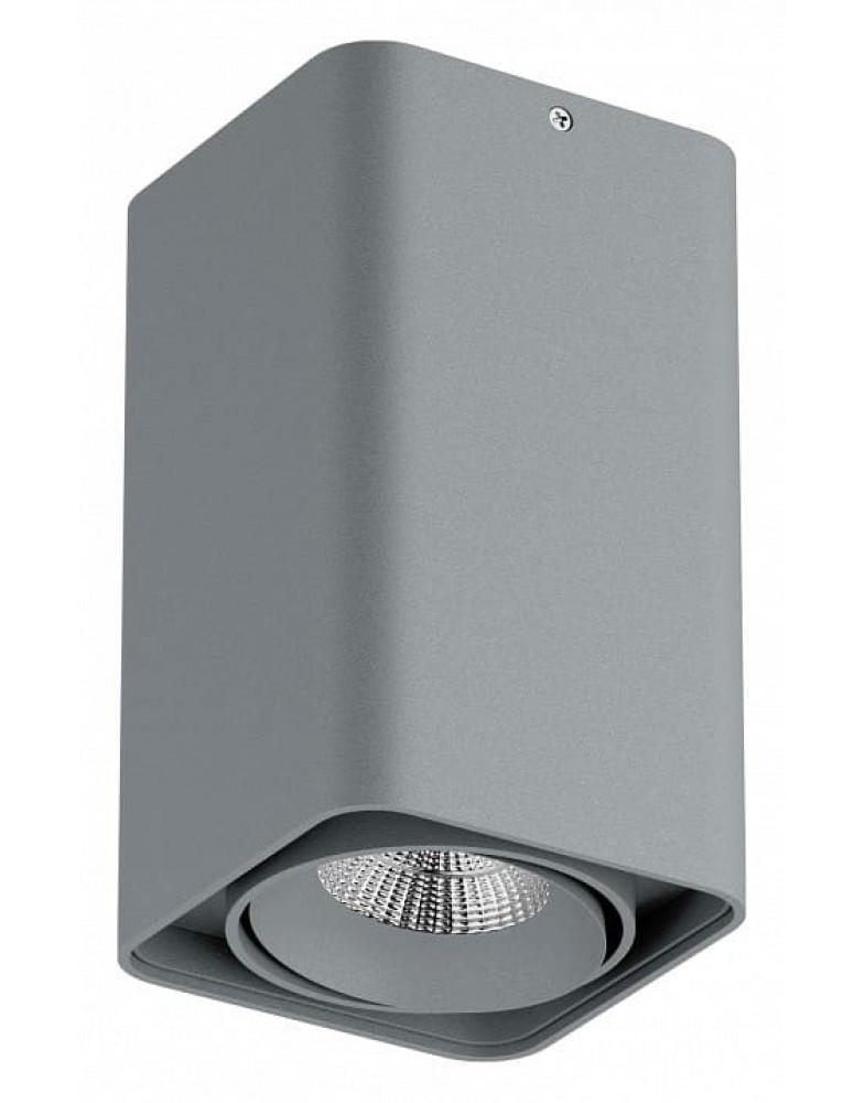 Серый накладной светильник LIGHTSTAR MONOCCO 100x100x170