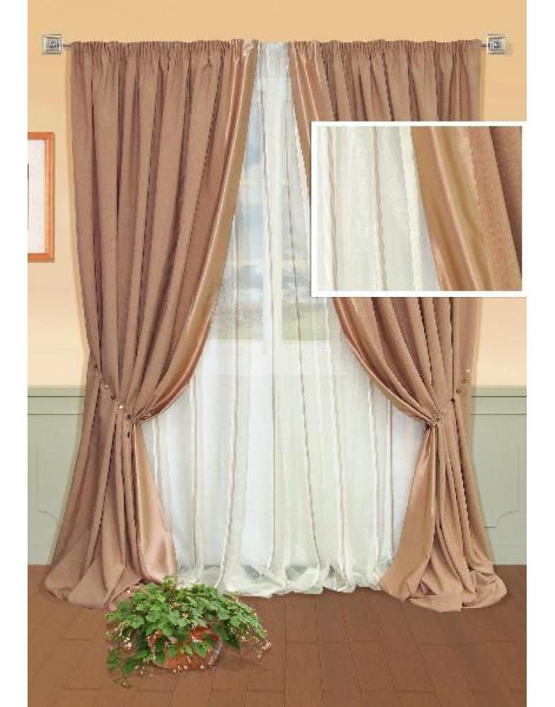 Комплект штор для спальни Grand-S 123015120