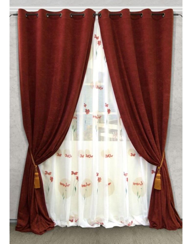 Комплект штор для гостиной Nebel-S 123800675