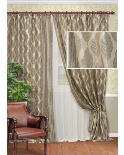 Комплект штор для гостиной Bernau-S 123908680