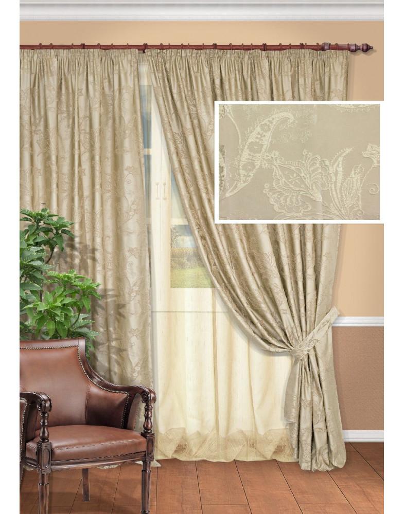 Комплект штор для гостиной Fenix-S