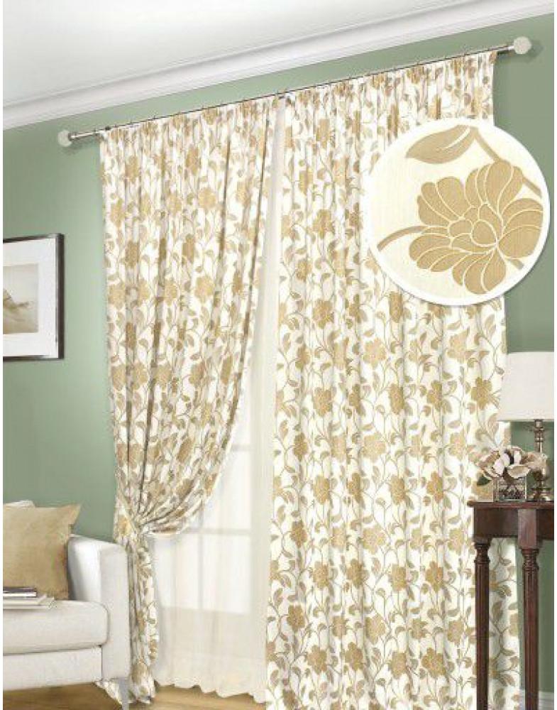 Комплект штор для гостиной Fiori-S 123309620