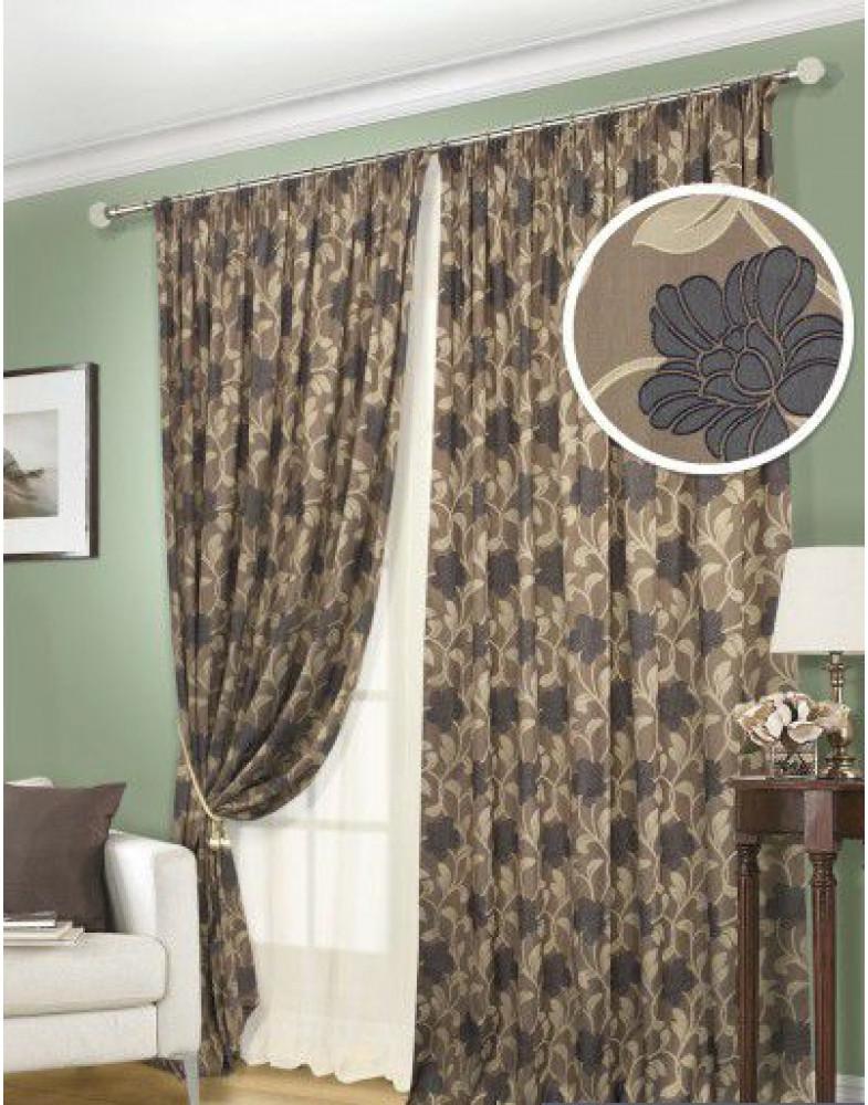 Комплект штор для гостиной Fiori-S 123309630