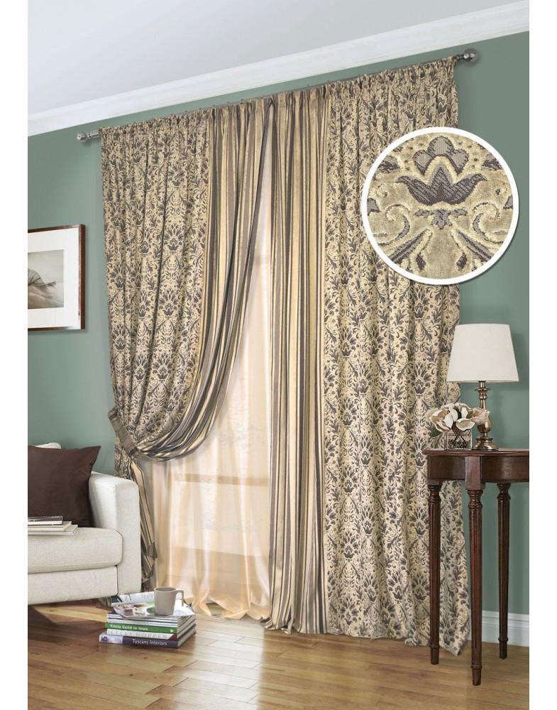 Комплект штор для гостиной Inka 123235635