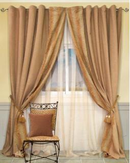 Комплект штор для гостиной Mythe 123356907