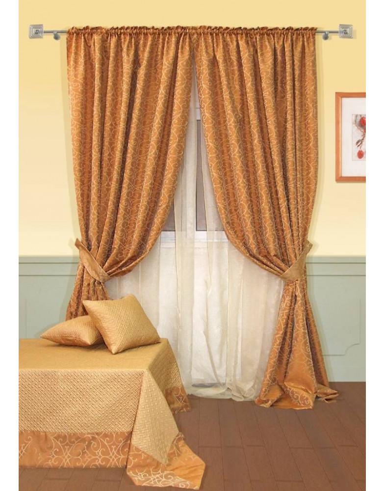 Комплект штор для гостиной Soprano-S 123401620