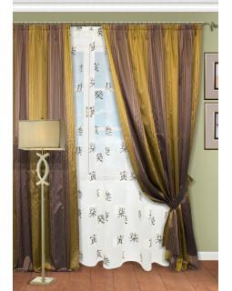 Комплект штор для гостиной Suteki-ST