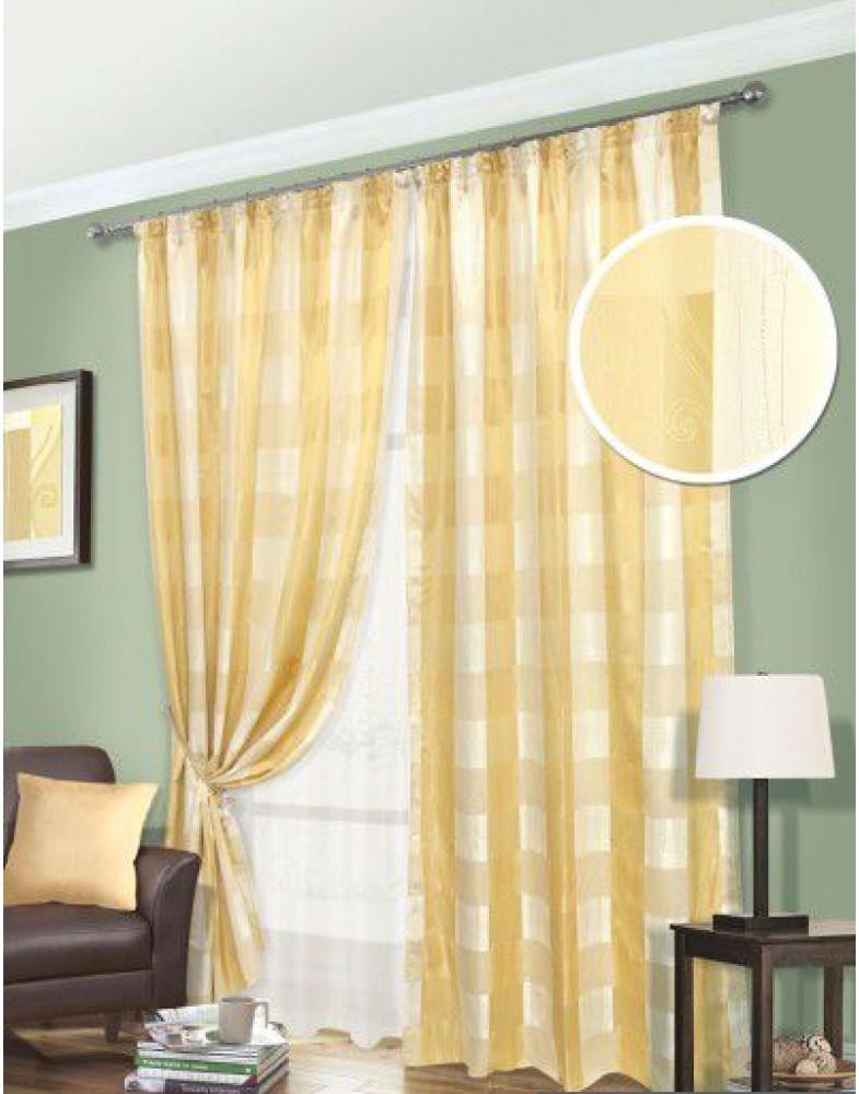 Комплект штор для гостиной Toscana-S 123301071