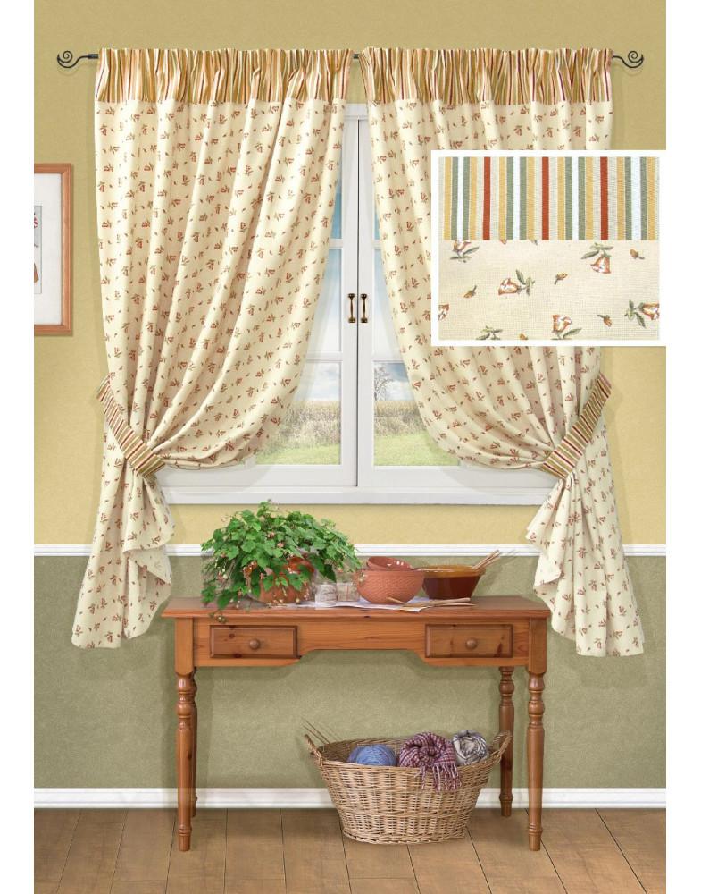 Комплект штор для кухни Acadia-S 123126150