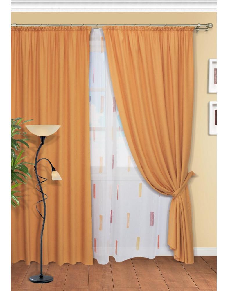 Комплект штор для гостиной Ancona-ST 145x265
