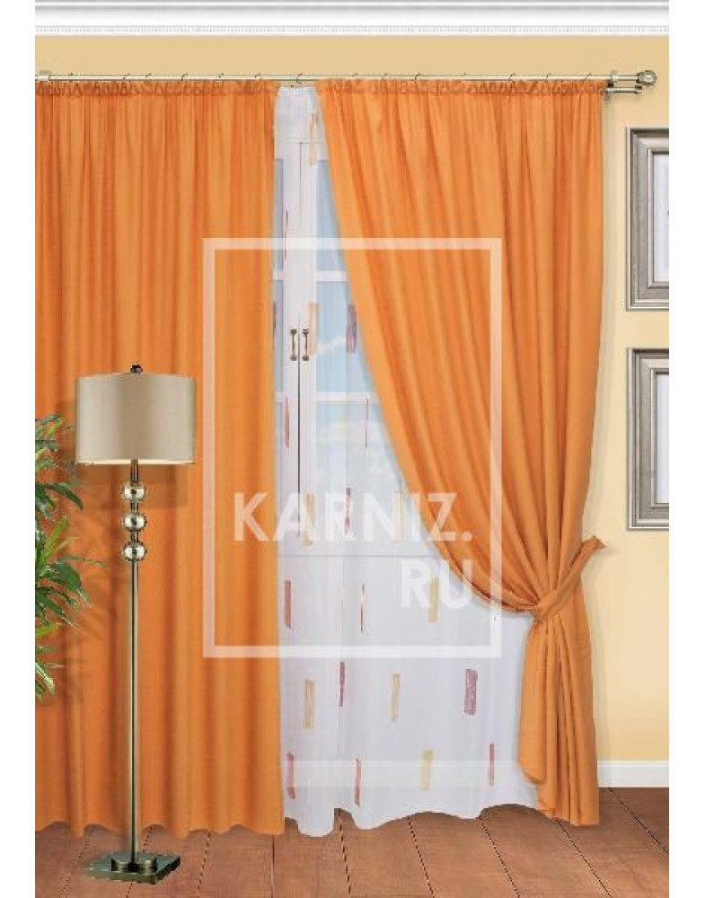 Комплект штор для гостиной Ancona-ST