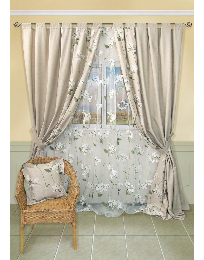 Комплект штор для спальни Fubuki 9123450615