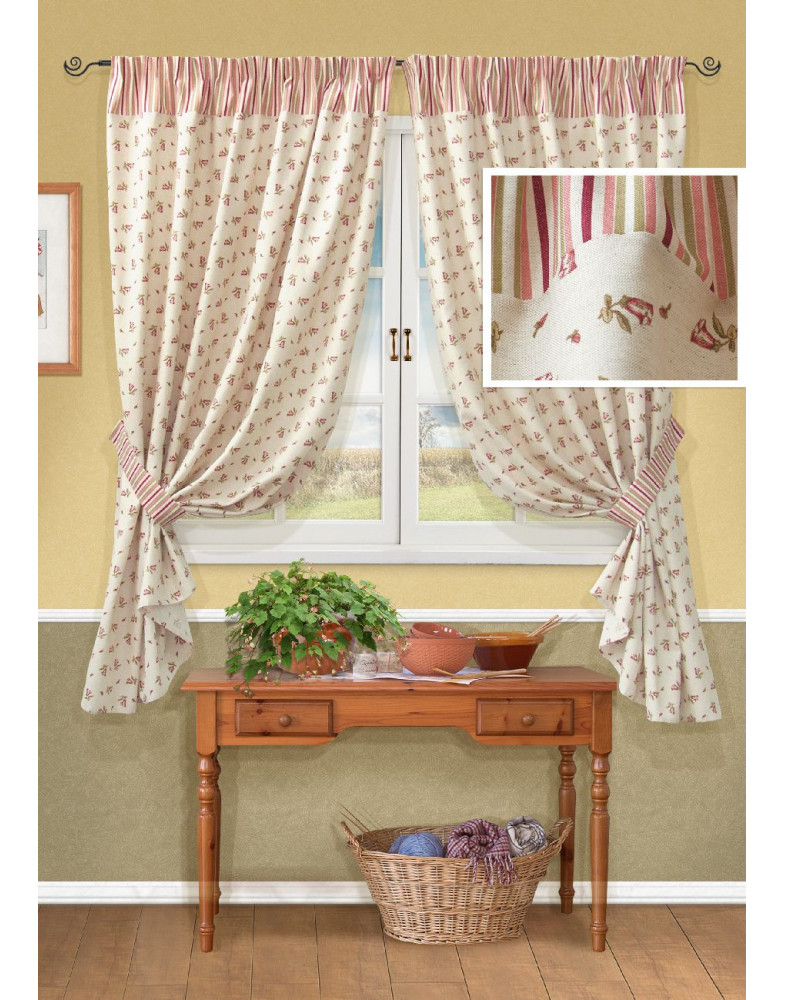 Комплект штор для кухни Acadia-S 123126197