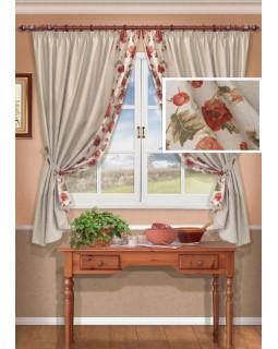 Комплект штор для кухни Kesada