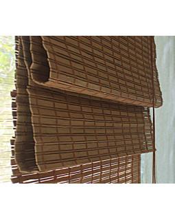 Бамбуковые римские шторы КАКАО Kauffort
