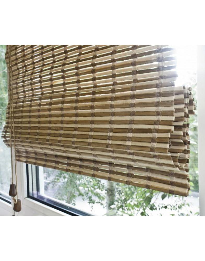 Бамбуковые римские шторы Микс