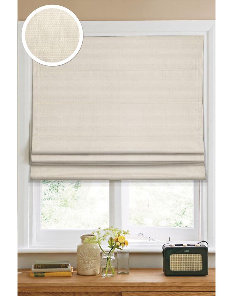 Римские тканевые шторы 100х160 см Kauffort-1109100 Кремовый