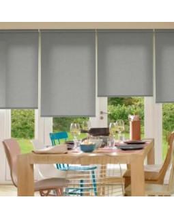 Рулонные шторы СЕРЫЙ Ролло для окна Kauffort
