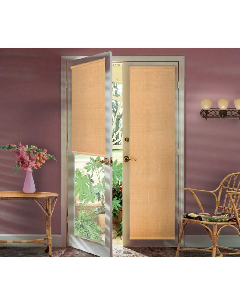 Миниролло для балконной двери 52х215 см Kauffort-93052112 Светлый абрикос