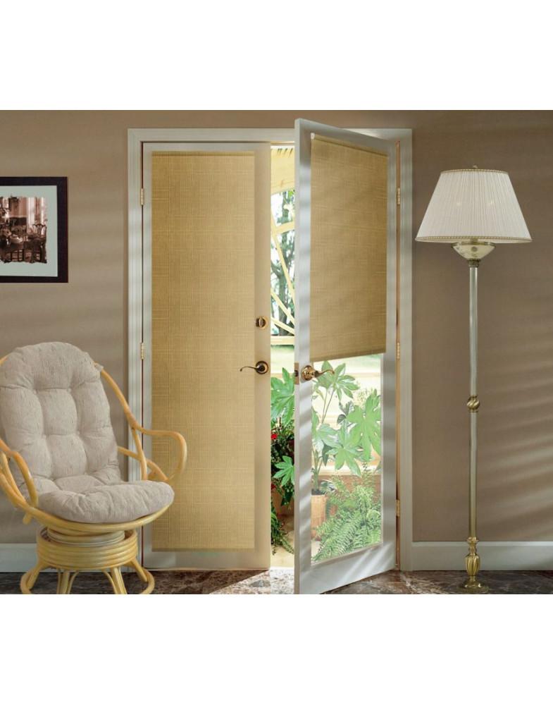 Миниролло для балконной двери 52х215 см Kauffort-93052209 Темно-бежевый