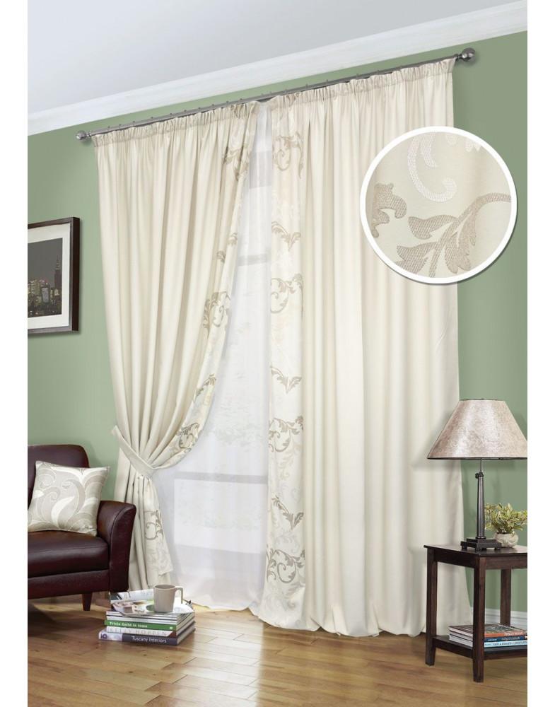 Комплект штор для спальни Oriana-S 123900615