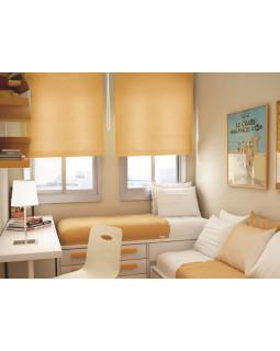 Миниролло для окна 115х170 см цвет светлый абрикос