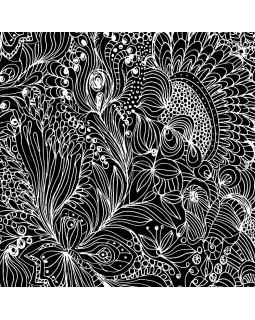 Ткань для рулонных штор АВЕНСИС 1908 черный
