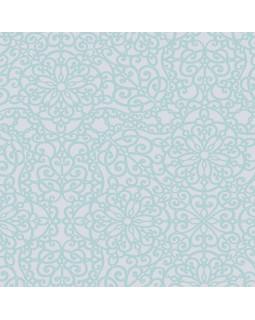 Ткань для рулонных штор САМИРА 5612 бирюзовый